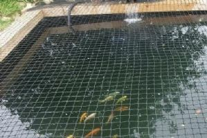 CHILD SAFETY POND NETTING- 3M X 2M pits hot tub